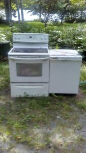appliances ceramic top stove dishwasher