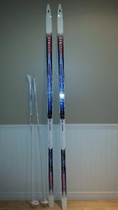 ensemble de ski de fond pour femme