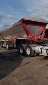 2005 Trailer King Live Bottom triaxle trailer