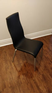 High Quality Black Dining Chairs [50EACH\ 250FOR SIX]