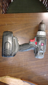 Porter cordless drill and battery