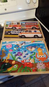 2 puzzles Excellent condition.