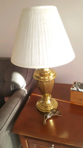 Brass Lamp for sale, only $15