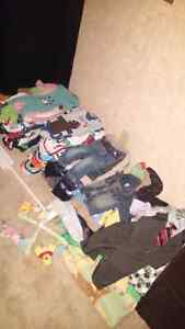 Over 300 piece baby boy 3- 6 month lot