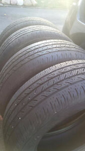 4  Used 215/ 60/ R16 All Season Tires No RIMS  for sale Kitchener / Waterloo Kitchener Area image 3