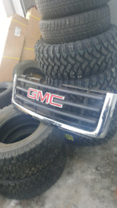07-13 OEM CHROME GRILL GMC SIERRA
