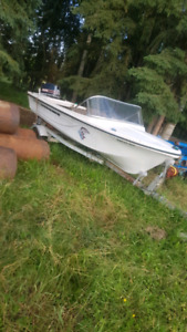 Boat for trades plus a ford f150