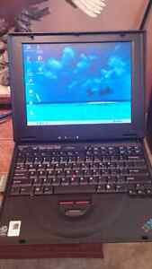 """FOR SALE"""" IBM THINKPAD A LITTLE OLDER BUT LIKE NEW"""