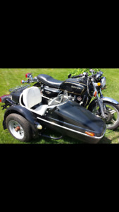 1979 Goldwing with Velorex sidecar! Awesome summer fun!