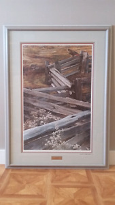 """Carl Brenders Limited Edition Print : """"The Balance of Nature"""""""