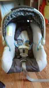 Baby infint carseat and base.  60
