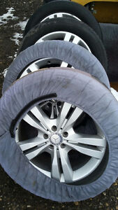 Mercedes Rims and tires 255/50R 19