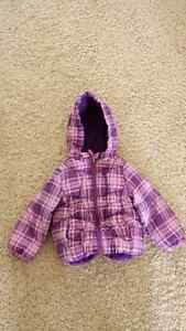 Girls winter jacket - size 2T