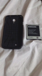 Samsung galaxy s4 case and battery