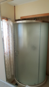 Shower stall -never used.