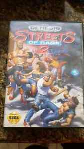 For sale streets of rage 2 box only no game sega genesis