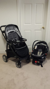 Graco Travel System (Click-Connect Stroller and Car Seat)