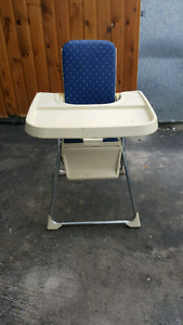 Old school baby high chair