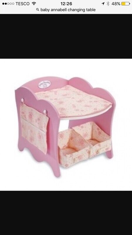 Baby Annabell Changing Table In Inverurie Aberdeenshire