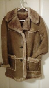 Genuine Sheepskin Coat