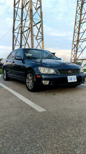 Clean Stock Manual 2003 Lexus IS300