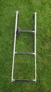 3 Step Stainless Steel Telescoping Boat Ladder
