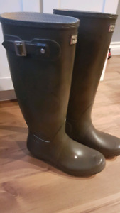 Brown Hunter Boots Size 7