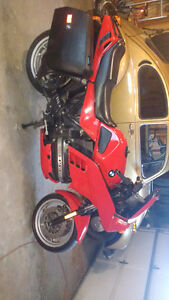 1991 BMW K100rs 4v  plus moped new paint well maintained