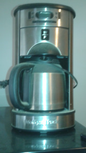 ALL IN ONE COFFEE GRINDER AND BREWER