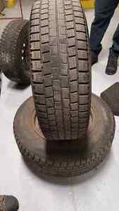2 winter tires 4 rims 185 70R14