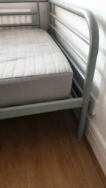 Ikea single metal bed frame