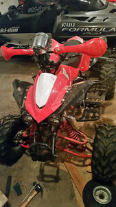 110 cc ATV with reverse (willing to trade)