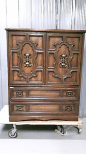 Vintage Cedar Lined Armoire in Excellent Condition