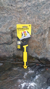 """Stanley """"Control-Grip"""" 10 inch Adjustable Wrench"""