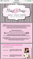 Book your home party