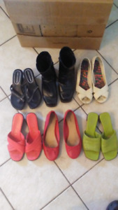 6 PAIRS OF SHOES FOR ONLY $35 FOR ALL