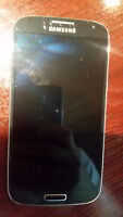 Galaxy S4 under Sasktel with cracked screen
