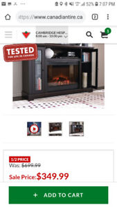 Brand new kingswood fireplace