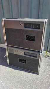 Vintage Yamaha combo w/powered cab TRADE West Island Greater Montréal image 2