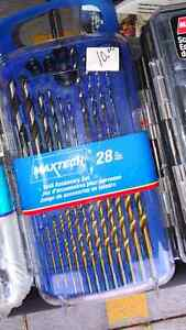 Drill bit sets - Mastercraft, dewalt, ryobi, skil, craftsman etc Kitchener / Waterloo Kitchener Area image 5