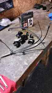 Harley -Davidson front brakes and Throttle cables & clamps London Ontario image 1