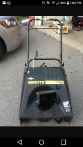 Brute 5HP snowblower