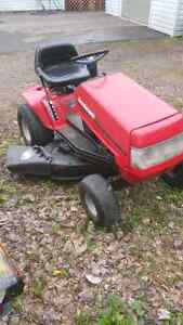 """SOLD: 12.5hp/38"""" yard machines lawn tractor"""