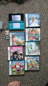 Nintendo 3DS bundle with 9 games