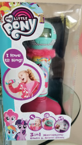 pouliche The Movie/ My little pony Microphone