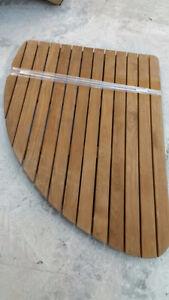 Caillebotis en bois de cedre