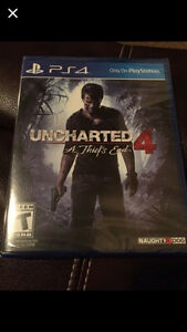 Uncharted 4 - Brand New Never Opened $60 Edmonton Edmonton Area image 1