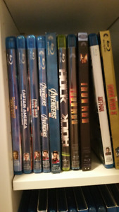Marvel, DC, and other Super Hero Blu-rays
