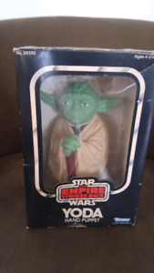 Star Wars Empire Strikes Back Yoda Hand Puppet Vintage