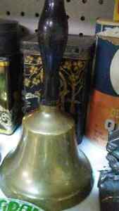 Old school bell $30 beautiful shape very loud can deliver